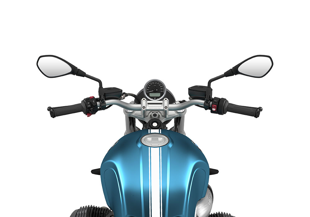 SIG 1074 02 BMW RnineT Pure White Triple Lines Teal