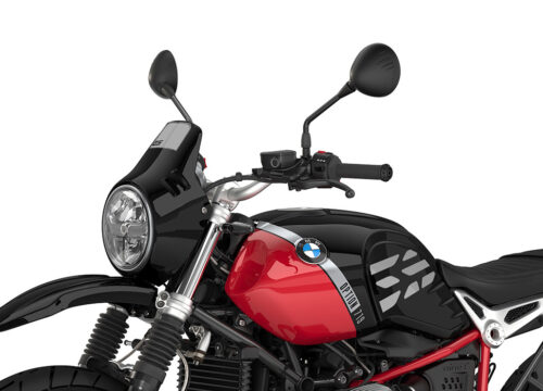 SIG 1090 01 BMW RnineT Urban GS Silver GS Lines Black Storm Front