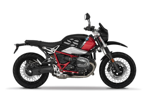 SIG 1090 01 BMW RnineT Urban GS Silver GS Lines Black Storm Right