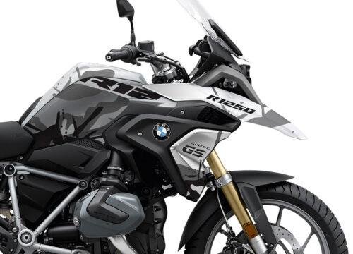 SIG 1110 02 BMW R1250GS Light White Safari R12 Grey Stickers Kit 02