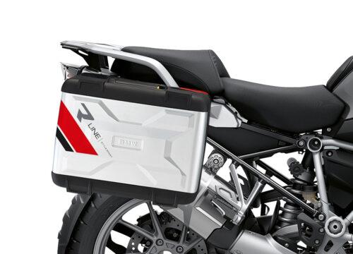 SIG 1145 BMW VARIO PANNIERS R LINE RED BLACK GREY STICKERS 02