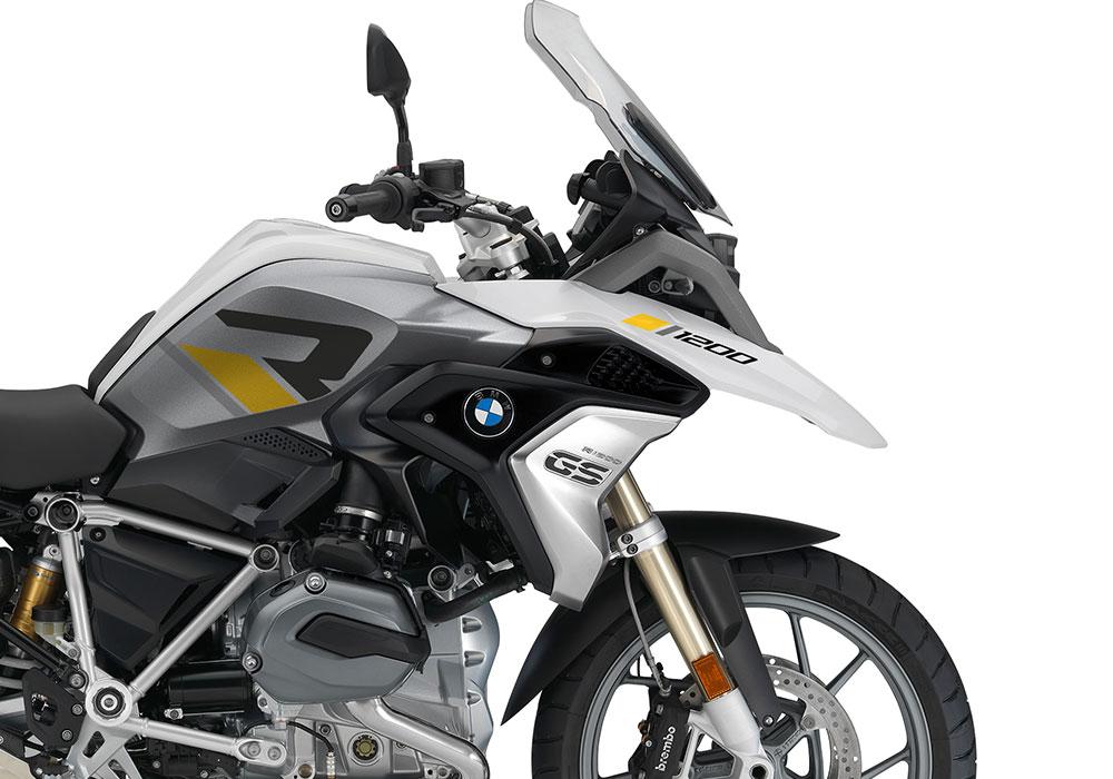 SIG 1118 01 BMW R1200GS 2017 2018 R LINE Grey Yellow Stickers Alpine White 02