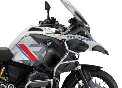 SIG 1120 01 BMW R1200GS Adv R LINE Grey Red Blue Stickers Alpine White 02