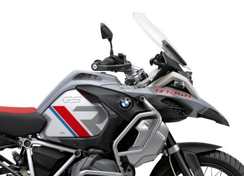 SIG 1120 02 BMW R1250GS Adv R LINE Grey Red Blue Stickers Ice Grey Right 02