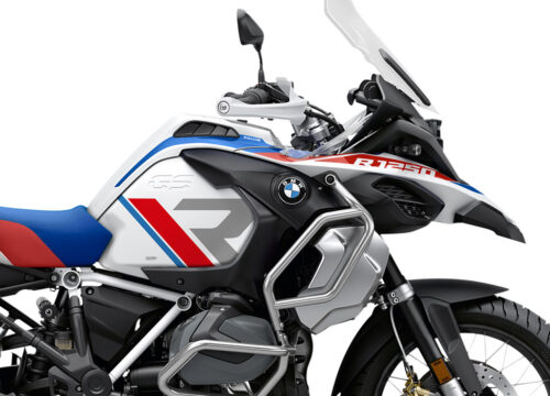SIG 1120 02 BMW R1250GS Adv R LINE Grey Red Blue Stickers Style Rally Right 2