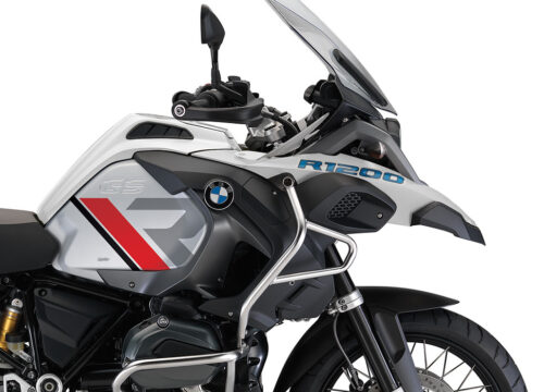 SIG 1121 01 BMW R1200GS Adv R LINE Grey Red Black Stickers Alpine White 02