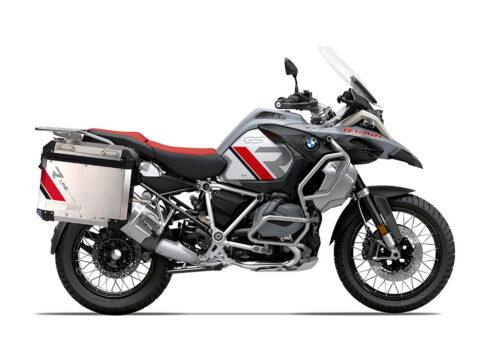 SIG 1131 BMW Aluminum Panniers R Line Grey Red Black