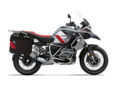 SIG 1134 BMW Aluminum Panniers Black R Line Grey Red