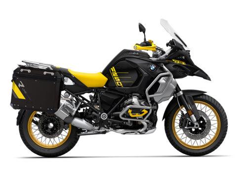 SIG 1136 BMW Aluminum Panniers Black R Line Grey Yellow