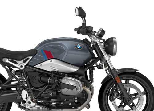 SIG 1124 02 BMW RnineT Pure R LINE Grey Red Blue Grey Stickers Mineral Grey Right 02