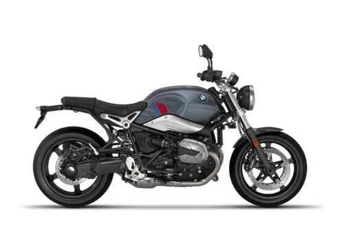 SIG 1124 02 BMW RnineT Pure R LINE Grey Red Blue Grey Stickers Mineral Grey Right