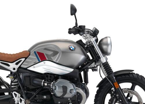 SIG 1124 03 BMW RnineT Scrambler R LINE Grey Red Blue Grey Stickers Monolith Metallic right rear 02