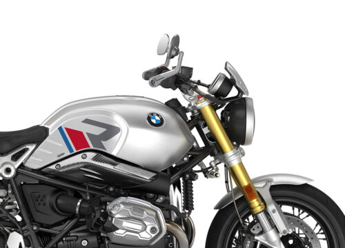 SIG 1124 04 BMW RnineT R LINE Grey Red Blue Grey Stickers Option 719 Aluminium Right 02