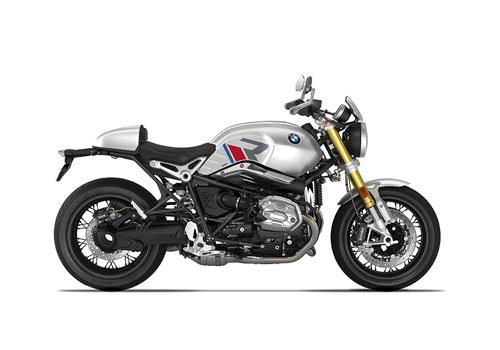 SIG 1124 04 BMW RnineT R LINE Grey Red Blue Grey Stickers Option 719 Aluminium Right 1