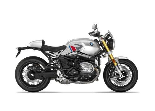 SIG 1124 04 BMW RnineT R LINE Grey Red Blue Grey Stickers Option 719 Aluminium Right