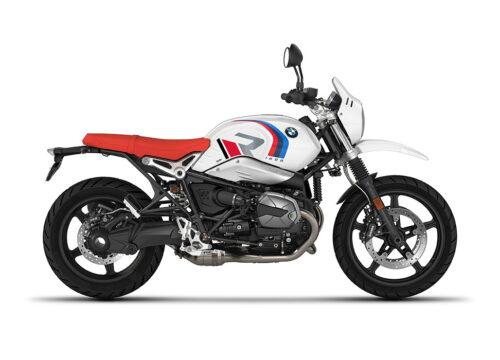 SIG 1125 01 BMW RnineT Urban GS R LINE Grey Red Black Grey Stickers Light White Right