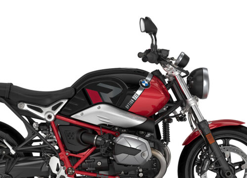 SIG 1125 02 BMW RnineT Pure R LINE Grey Red Black Stickers Black Storm Metallic Racing Red Right 02