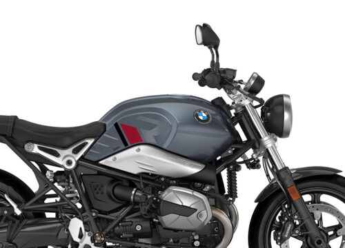 SIG 1125 02 BMW RnineT Pure R LINE Grey Red Black Stickers Mineral Grey Right 02