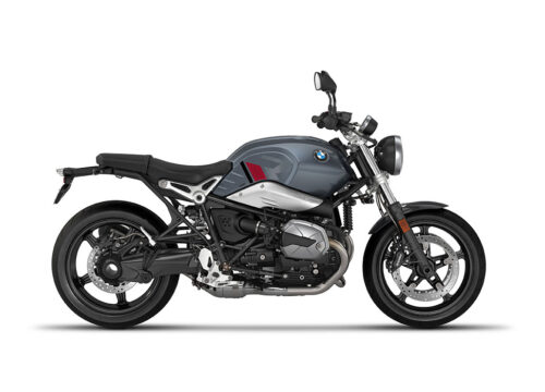 SIG 1125 02 BMW RnineT Pure R LINE Grey Red Black Stickers Mineral Grey Right