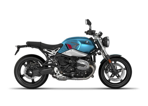 SIG 1125 02 BMW RnineT Pure R LINE Grey Red Black Stickers Teal Blue Metallic Matte Right