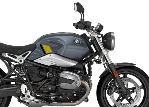 SIG 1127 02 BMW RnineT Pure R LINE Grey Yellow Black Stickers Mineral Grey Right 02