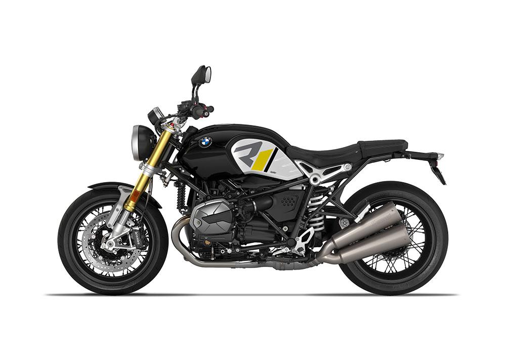 SIG 1127 04 BMW RnineT R LINE Grey Yellow Black Grey Stickers Black Storm Metallic left