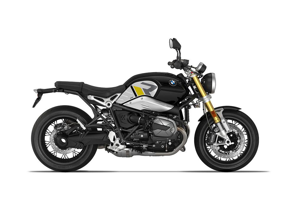 SIG 1127 04 BMW RnineT R LINE Grey Yellow Black Grey Stickers Black Storm Metallic right