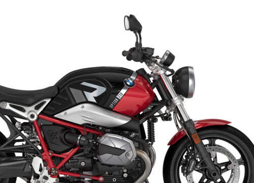 SIG 1128 02 BMW RnineT Pure R LINE Grey Variations Stickers Black Storm Metallic Racing Red Right 02