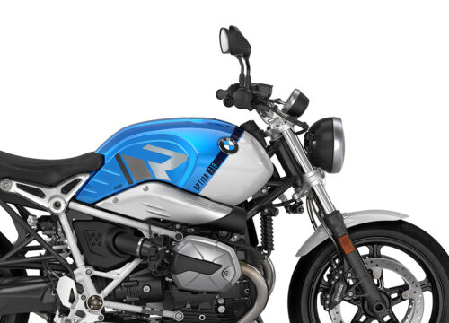 SIG 1128 02 BMW RnineT Pure R LINE Grey Variations Stickers Cosmic blue Metallic Right 02