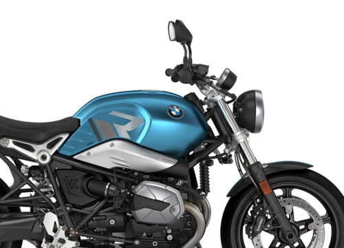 SIG 1128 02 BMW RnineT Pure R LINE Grey Variations Stickers Teal Blue Metallic Matte Right 02