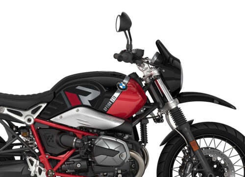 SIG 1129 01 BMW RnineT Urban GS R LINE Grey Red Stickers Option 719 Black Storm Metaqllic Racing Red Right 02