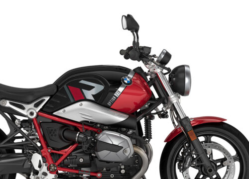 SIG 1129 02 BMW RnineT Pure R LINE Grey Red Stickers Black Storm Metallic Racing Red Right 02