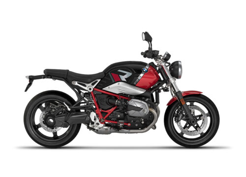 SIG 1129 02 BMW RnineT Pure R LINE Grey Red Stickers Black Storm Metallic Racing Red Right
