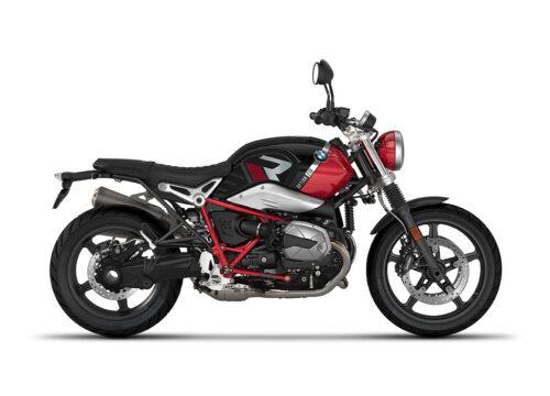 SIG 1129 03 BMW RnineT Scrambler R LINE Grey Red Grey Stickers Option 719 Black Strorm Metallic Racing Red Right