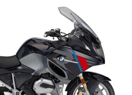 SIG 1152 01 BMW R1200RT R LINE Grey Red Blue Stickers Carbon Black Metallic right 02