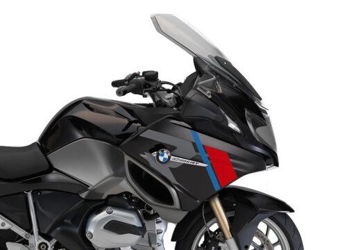 SIG 1152 01 BMW R1200RT R LINE Grey Red Blue Stickers Ebony Blue right 02