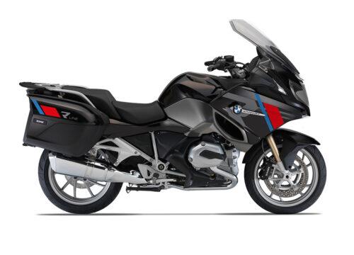SIG 1152 01 BMW R1200RT R LINE Grey Red Blue Stickers Ebony Blue right