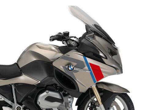 SIG 1152 01 BMW R1200RT R LINE Grey Red Blue Stickers Platinum Bronze Metallic right 02