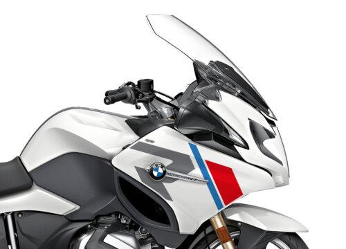SIG 1152 02 BMW R1250RT R LINE Grey Red Blue Stickers Alpine White 2018 2020 Right 02