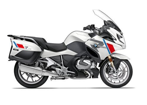 SIG 1152 02 BMW R1250RT R LINE Grey Red Blue Stickers Alpine White 2018 2020 Right