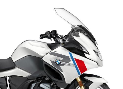 SIG 1152 03 BMW R1250RT R LINE Grey Red Blue Stickers Alpine White 2021 Right 02