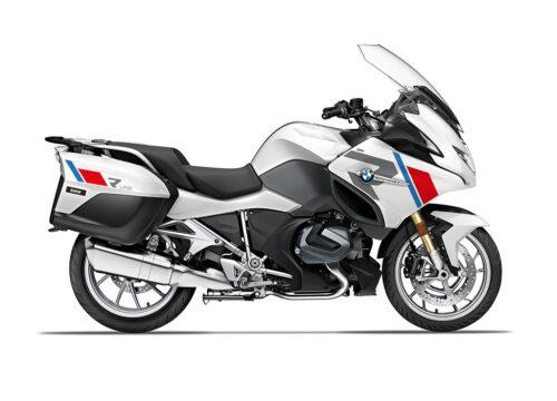 SIG 1152 03 BMW R1250RT R LINE Grey Red Blue Stickers Alpine White 2021 Right