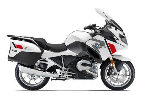 SIG 1153 01 BMW R1200RT R LINE Grey Red Black Stickers ALPINE WHITE right