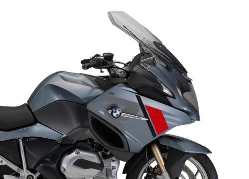 SIG 1153 01 BMW R1200RT R LINE Grey Red Black Stickers Quartz Blue Metallic right 02