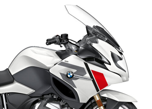 SIG 1153 02 BMW R1250RT R LINE Grey Red Black Stickers Alpine White 2018 2020 Right 02