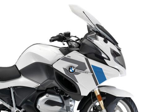 SIG 1155 01 BMW R1200RT R LINE Grey Blue Stickers ALPINE WHITE right 02