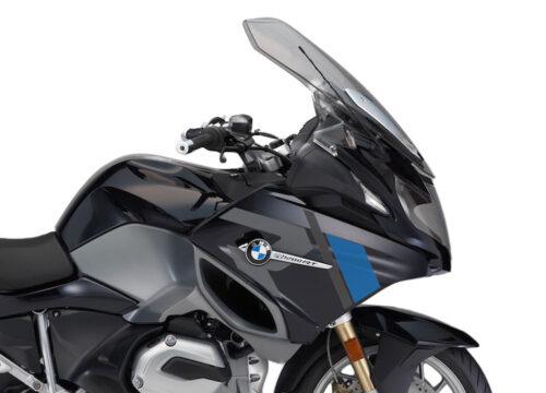 SIG 1155 01 BMW R1200RT R LINE Grey Blue Stickers Carbon Black Metallic right 02