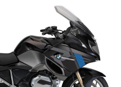SIG 1155 01 BMW R1200RT R LINE Grey Blue Stickers Ebony Blue right 02