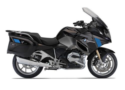 SIG 1155 01 BMW R1200RT R LINE Grey Blue Stickers Ebony Blue right