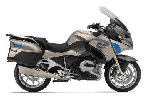 SIG 1155 01 BMW R1200RT R LINE Grey Blue Stickers Platinum Bronze Metallic right 2
